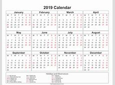 2019 Kalenteri Download 2019 Calendar Printable with