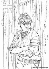 Potter Harry Coloring Pages Chamber Secrets Info Sheets Cartoon Ron Weasley Colouring Items Printable Adult Stuff Dragon Stone Characters Baby sketch template
