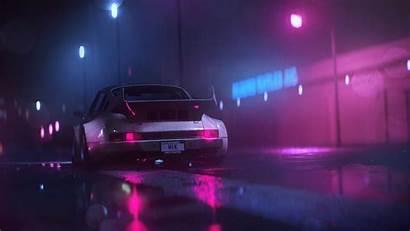 Neon Digital Porsche Wallpapers Desktop Mobile Backgrounds