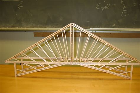 How To Make A Bridge Out Of Balsa Wood  Math Pinterest