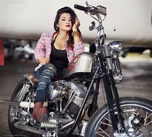 Harley Davidson Girl Wallpaper - impremedia net
