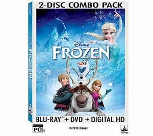 Disney's Frozen Two-Disc Blu-Ray — QVC.com