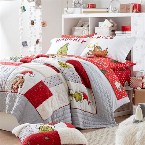Check spelling or type a new query. Grinch™ Flannel Dot Boys Duvet Cover + Sham | Sale | Pottery Barn Teen