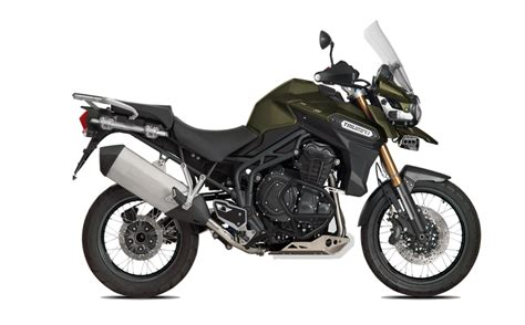 Triumph Tiger Explorer Modification by 2016 Tiger Explorer Xc Matte Khaki Green Triumph