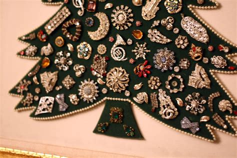 jeweled christmas tree holiday pinterest jeweled