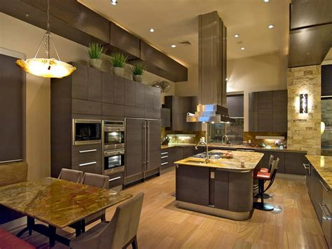 kitchen cabinets tall ceilings contemporary kitchen with high ceilings light wood floors