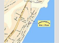 Location map Apartamentos Don Pepe La Carihuela,TLF
