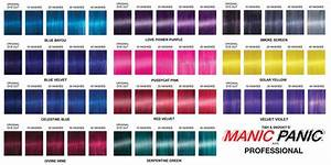 Hair Dye Colors Chart Image Result For Manic Panic Mixing Chart Manic Panic