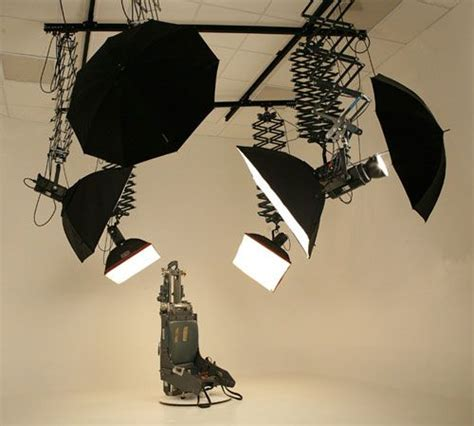 ceiling mounted photo studio lighting baker aircraft