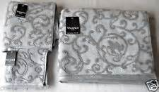 tahari home finest luxury collection gray cotton velour