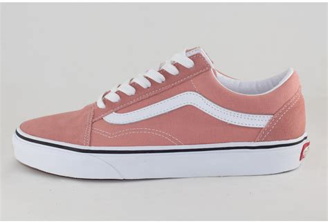 I have no control over shipping especially if it's international. VANS OLD SKOOL Rose Dawn/ True White - Shoe Class