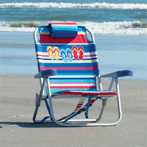 kirkland signature backpack beach chair  flip flop