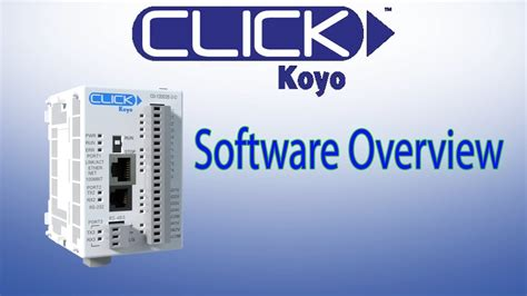 click plc software overview best plc for everyday systems