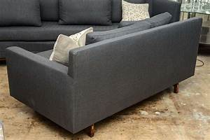 paul mccobb sleek mid century modern vintage sectional With vintage mid century sectional sofa for sale