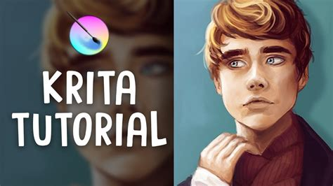 paint  krita digital art tutorial jenna