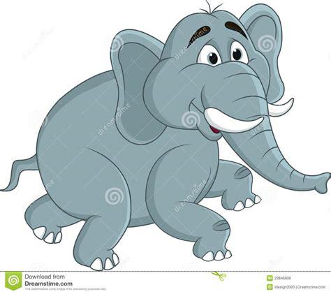 royalty  stock image elephant cartoon image