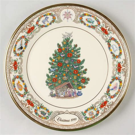 lenox christmas trees around the world plate 1999 mexico