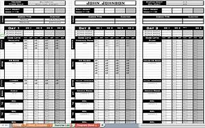 excel personal training templates excel training designs With personal training program template