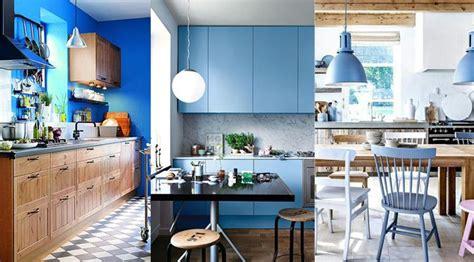 cuisine bleue idée décoration cuisine bleue