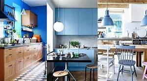 Cuisine Bleue Ikea : cuisine bleu 25 id es d co cuisine bleue ~ Preciouscoupons.com Idées de Décoration