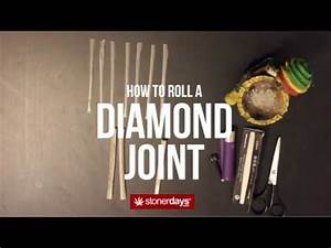 StonerDays Presents: How To Roll A Diamond Joint - YouTube