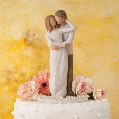 Willow Tree Together Cake Topper Figurine   Cake Topper Figurines   Crusader Gifts