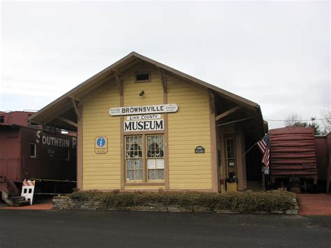 Brownsville Depot  Brownsville Oregon  Photos Then And