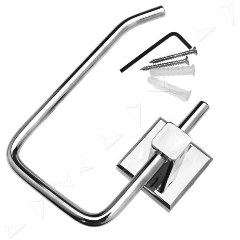 toilet roll holder square design brass square design modern wall mounted strong toilet roll