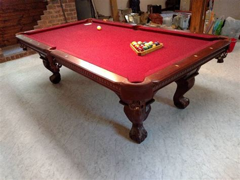 pool table movers mn mike s antiques collectibles household moving auction