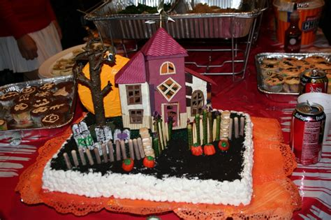 haunted house cakes decoration ideas  birthday cakes