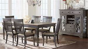 Cindy Crawford Home Ocean Grove Gray 5 Pc Dining Room ...