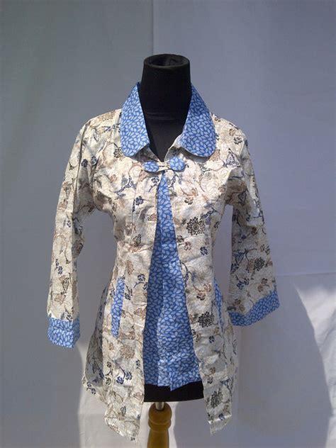 model baju atasan batik modern  pria  wanita