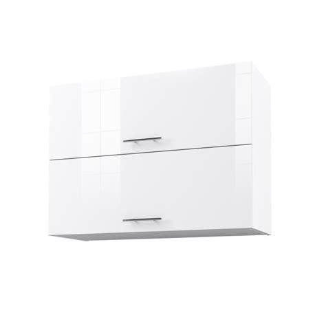 meuble haut de cuisine blanc city meuble haut de cuisine l 80 cm blanc laqué brillant