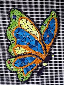 203 best Mosaic Butterflies images on Pinterest ...