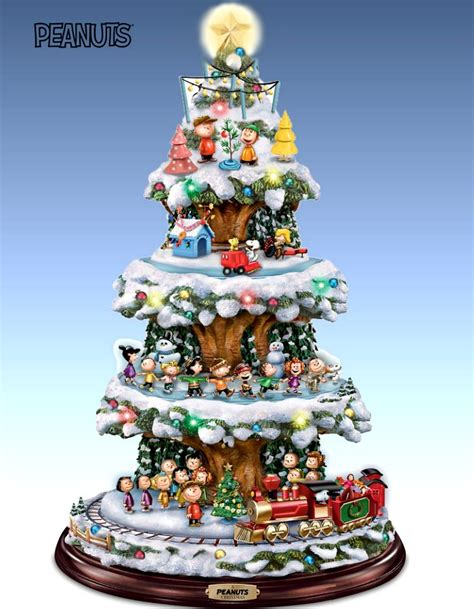 christmas village collections trees peanuts elvis