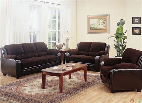 monika brown corduroy fabric casual living room furniture