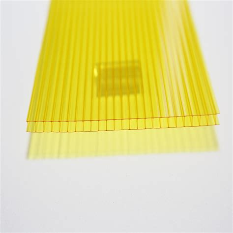 colored polycarbonate sheets colored hollow reinforce wall polycarbonate sheet for