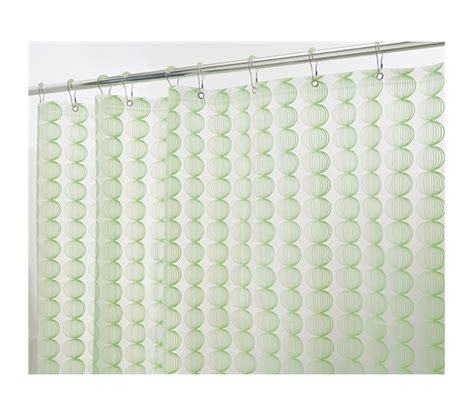 gentle color green retro shower curtain set must
