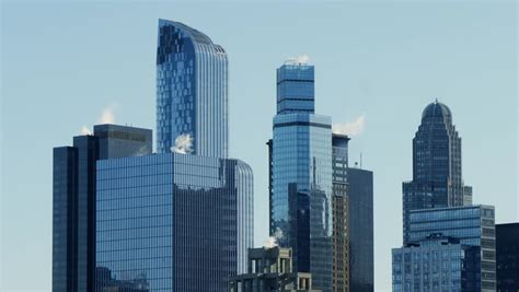 City Building Backgrounds by New York City Skyscrapers Buildings Stock Footage