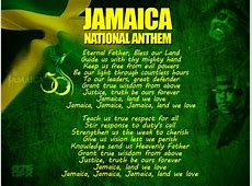 Jamaica National Anthem with Lyrics YouTube