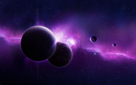 purple universe wallpapers hd wallpapers id