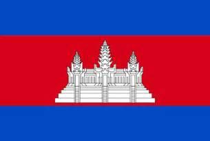 カンボジア:カンボジアの国旗-国旗など - 無料で使えるフリー素材集