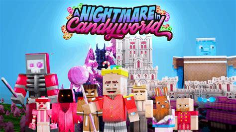 nightmare  candyworld minecraft marketplace map
