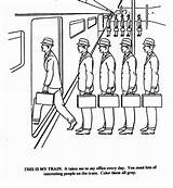 Elevator Office Takes Every Train Pages Gray Memes Nihilist Printable Template Sheet sketch template