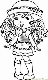 Coloring Cake Angel Strawberry Pages Shortcake Characters Cartoon Coloringpages101 Pdf Kerra sketch template