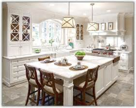 kitchens islands with seating large kitchen island with seating and storage home