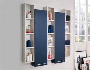Rangements Salle De Bain : meuble de rangement salle de bains coffres de rangement ~ Nature-et-papiers.com Idées de Décoration