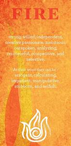 The Characteristics of a Fire Individual – Witches Of The ...