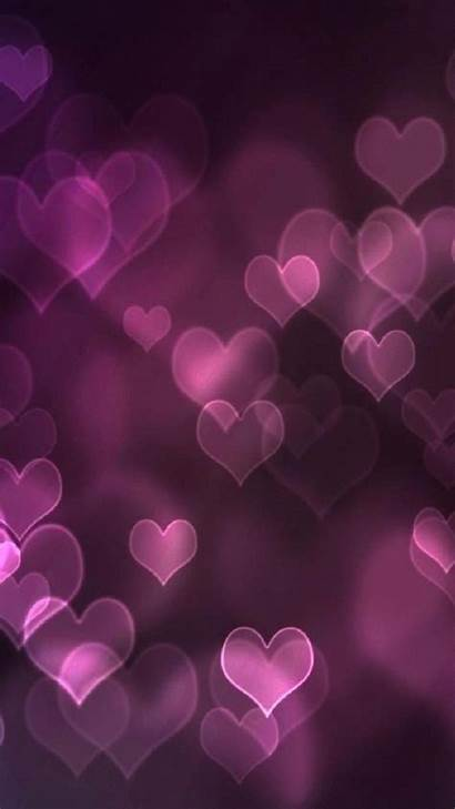 Girly Pink Wallpapers Iphone Purple Heart Plus