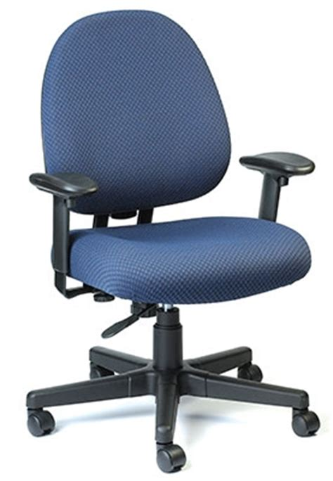 cypher series navy blue office chair by eurotech seating